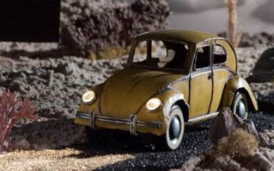 Volkswagon Lit by Dedolight