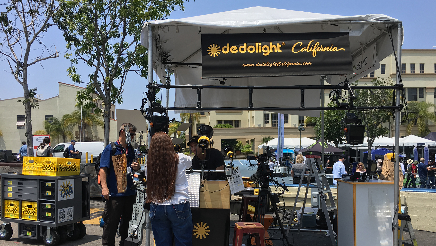 dedolight booth cine gear 2019